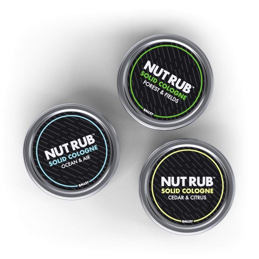 Nut Rub Solid Cologne