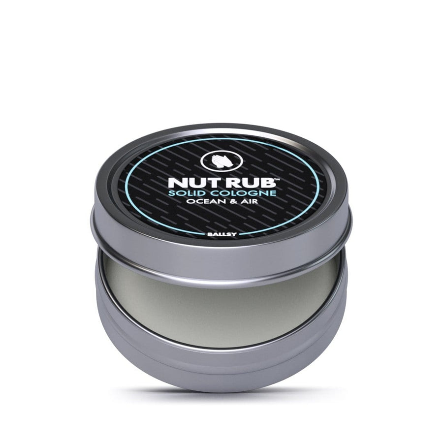 Nut Rub Solid Cologne Ocean & Air