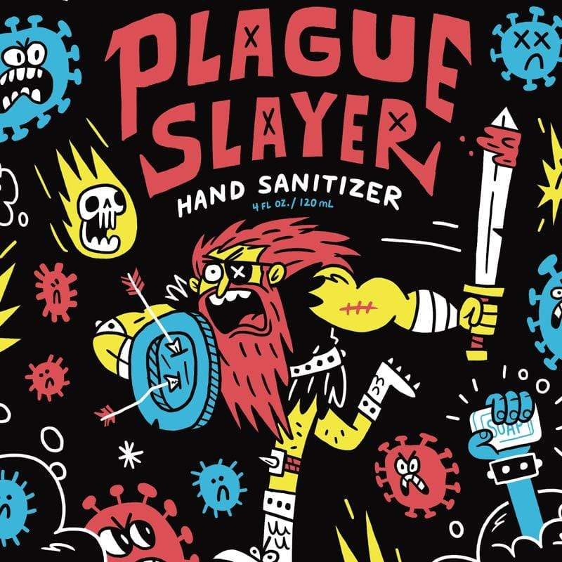 Plague Slayer Hand Sanitizer