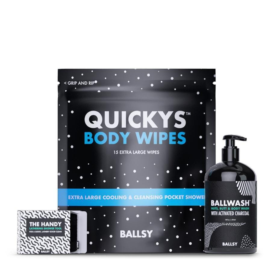 Ballsy Stay Clean Kit