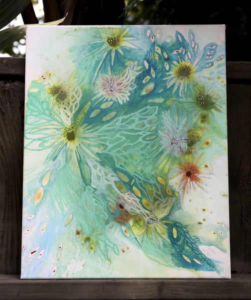 Tide Pools Painting