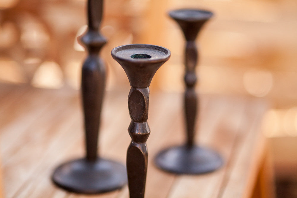 Wyoming Homestead Candlesticks