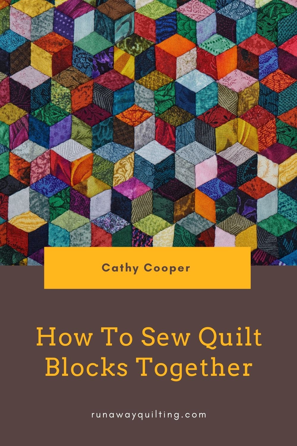 How To Sew Quilt Blocks Together