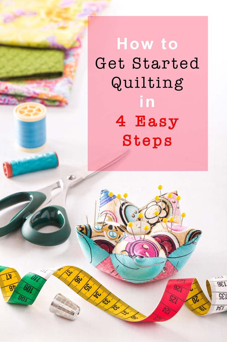 How to get started quilting in 4 easy steps