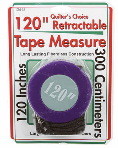 "120"" Quilter's Choice Retractable Measuring Tape"