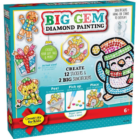 Big Gem Diamond Painting Kit- Christmas