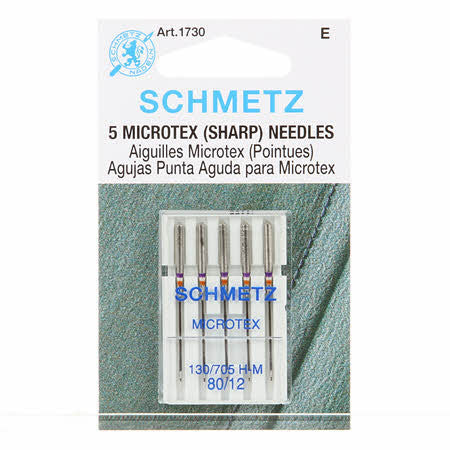 5 microtex (sharp) needles