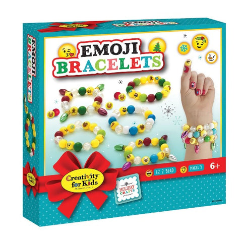 Emoji Bracelets- Holiday Kit