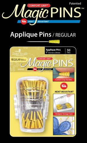 Magic Pins Applique Regular 50pc