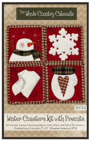 Winter Coaster Kit With Precuts