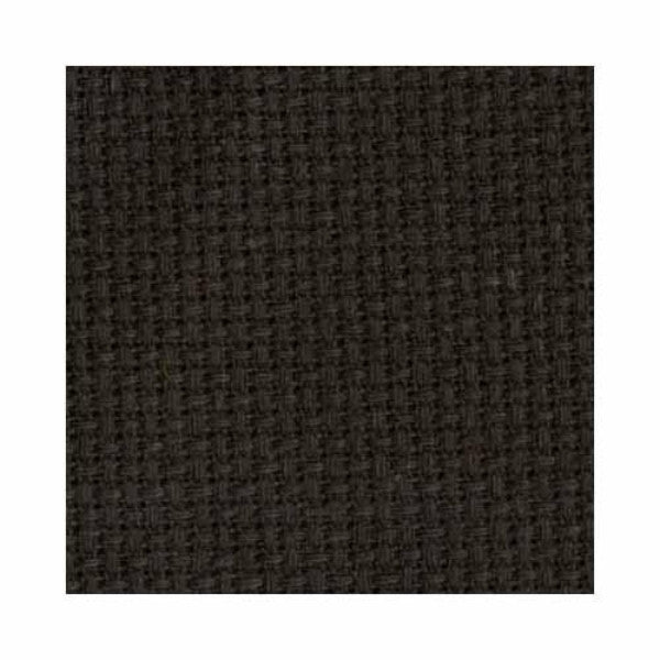 Aida Cloth 14ct 76cm x 1.8m - Black
