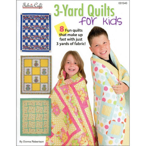 3-Yard Quilts For Kids Book