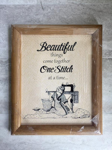 Beautiful Things Come Together -Picture Frame