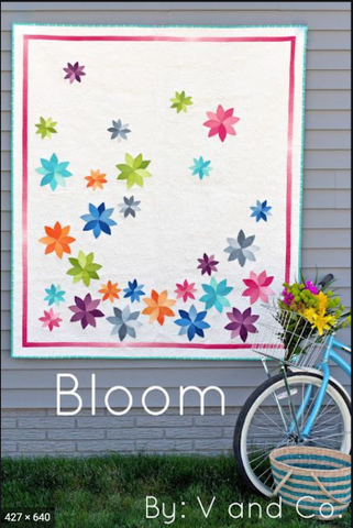 Bloom Quilt Pattern by V and Co.