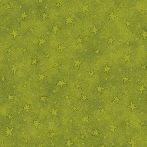 Starry Basics - Lime Green