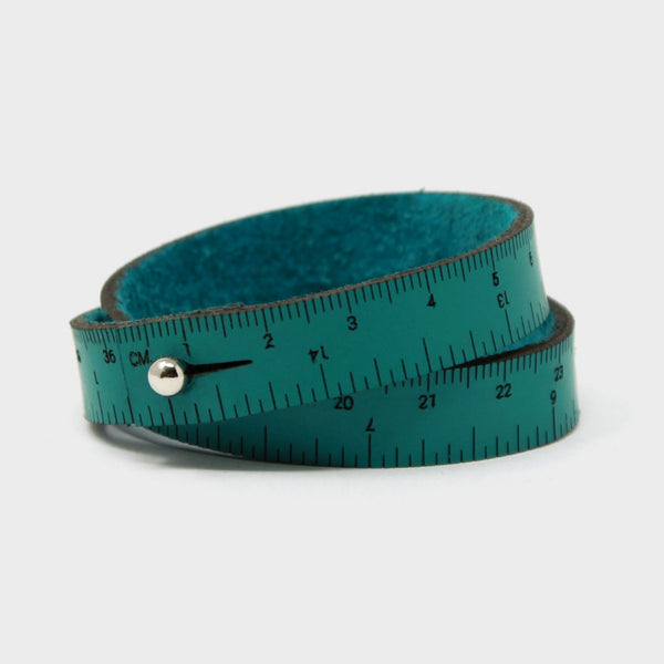 16in Wrist Ruler - Teal