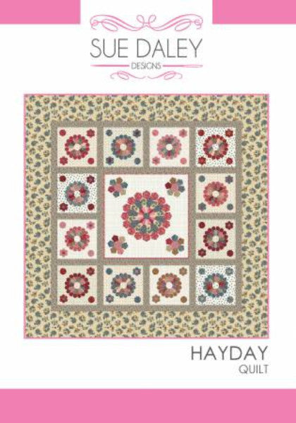 English Paper Piecing Hayday Quilt