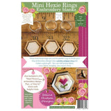 Mini Hexie Rings Embroidery Blanks -3pcs