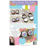 Mini Hexie Earrings Embroidery Blanks -3 Sets