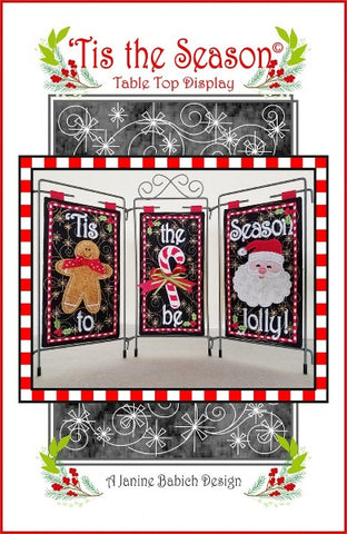 Tis The Season Table Top Display Pattern + CD