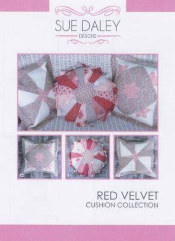 Red Velvet Cushion Collection