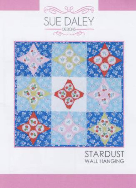 English Paper Piecing Stardust Wall Hanging