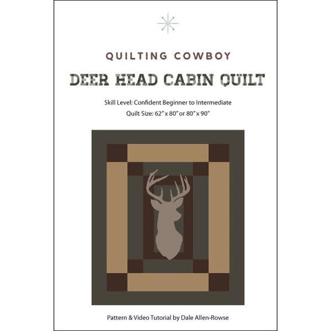 Deer Head Cabin Quilt