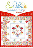English Paper Piecing Summer Love Quilt