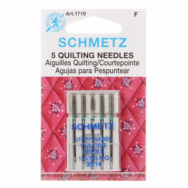 Schmetz 5 Quilting Needles 90/14