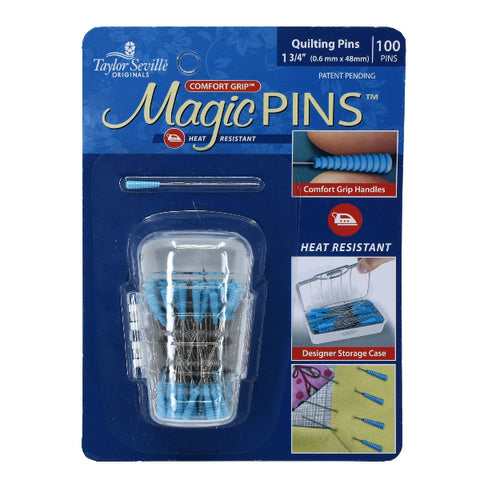 Magic Pins Quilting Fine 100pc