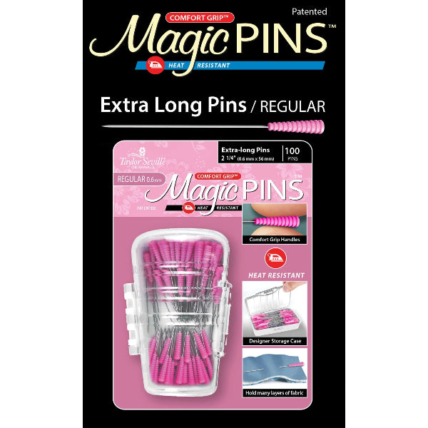 Magic Pins Extra Long Regular 100pc