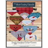 Doggy Bandana Collar Covers Pattern