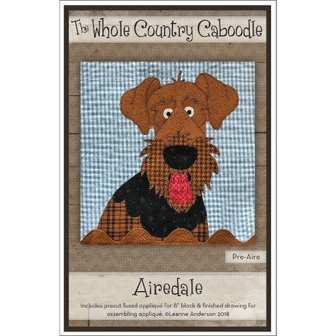 Airedale Precut Fused Appliqué Pack