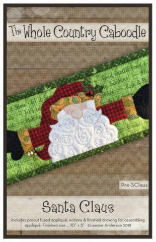Santa Claus Precut Fused Applique Pack