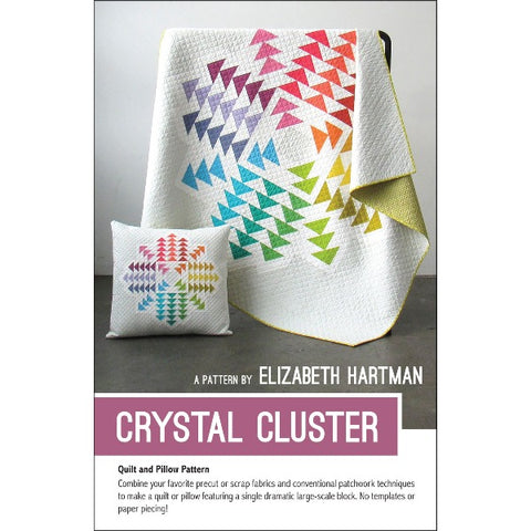 Crystal Cluster Quilt & Pillow Pattern