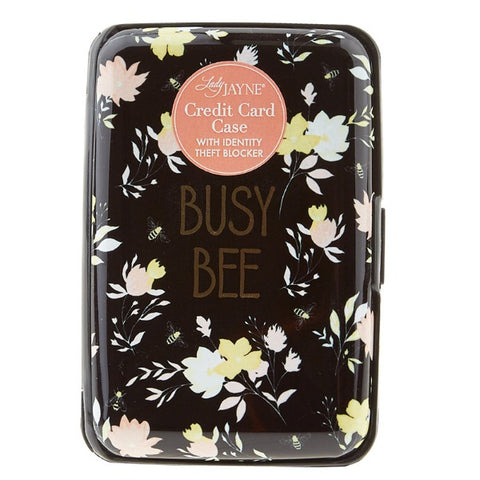 Busy Bee Credit Card Case