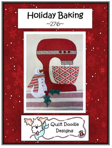 Holiday Baking Applique Pattern