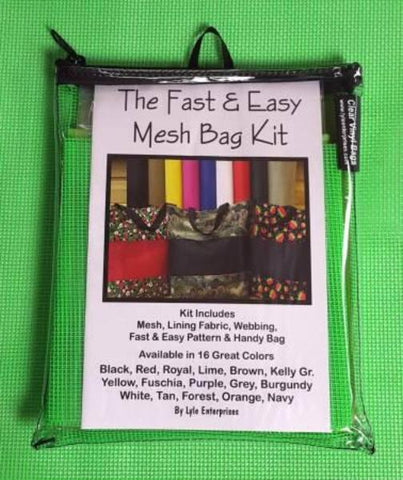 Mesh Bag Kit - Lime Green