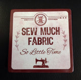 Sewing Theme Coasters Asst.