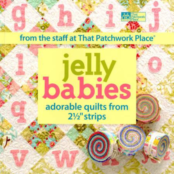 Jelly Babies Book Using 2 1/2 Inch Strips