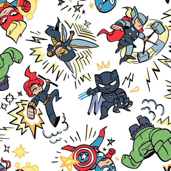Avengers Cotton - Kapow