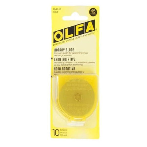 45mm Olfa Replacement Blades (10 Pack)