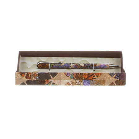 Quilt Pen - Purple and Brown