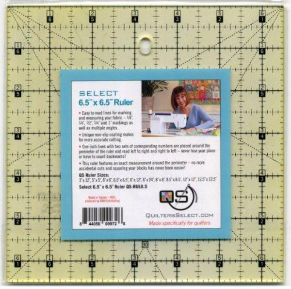 "Quilters Select Non-Slip Ruler 6 1/2"" x 6 1/2"""