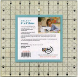 "Quilters Select Non-Slip Ruler 8"" x 8"""