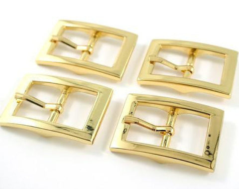 "Buckles 4 Packs 3/4"" Strap- Gold Finish"