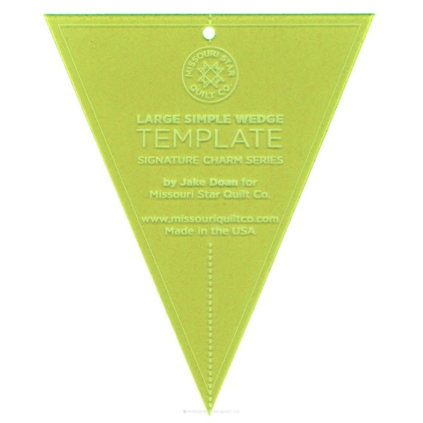 Large simple wedge layercake template