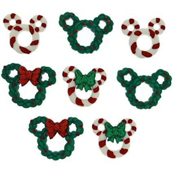 Dress It Up: Disney Holiday Wreaths And Canes