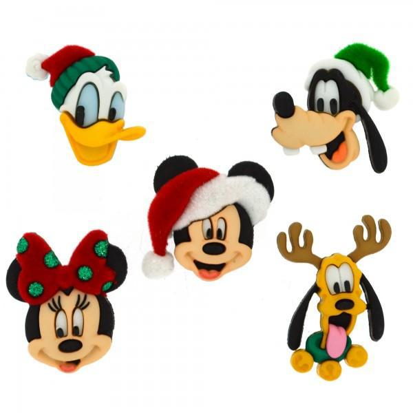 Dress It Up: Disney Holiday Heads