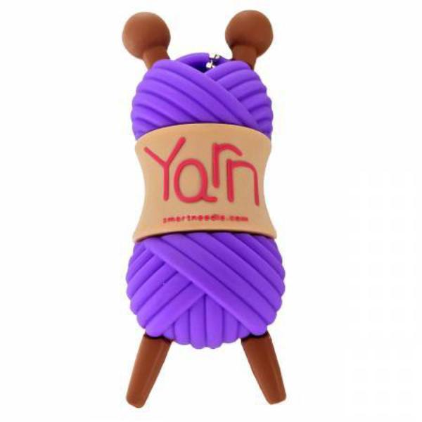 4GB USB Drive Yarn Skein Purple